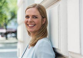 Spricht im LeseWurm über ihren neuen Roman: Meike Werkmeister aus Münster.