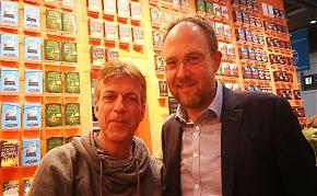 Zu Gast beim LeseWurm: der Tierpathologe und Autor Achim Gruber. (Foto: Volker Step