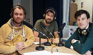 Johannes Langer, Florian Bender und Frederik Iven. (Von links nach rechts. Foto: Klaus Blödow)