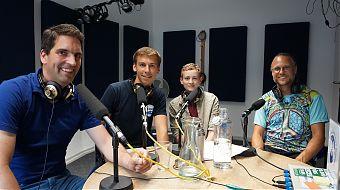 Dirk Nienhaus, Nico Wendker, Luca Thomas und Jan Gruno (Foto: Klaus Blödow)