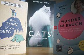 Norwegens Natur, menschliches Werden und Katzen sind Themen der LeseWurm-Sendung. (Foto: Volker Stephan)