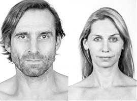 Die Studiogäste Markus Hennes und Ivana Langmajer