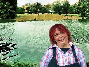 Mia am Aasee (Foto: nurdertheo; Gestaltung: Mia Mondstein)