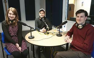 Annika Bade, Florian Bender und Frederik Iven (Foto: Hannah Wiedenhaus)