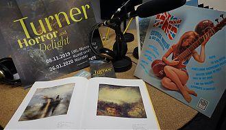 Die Ausstellung mit Bildern von William Turner und Easy Listening aus England stehen heute im Mittelpunkt. (Foto: Ralf Clausen)