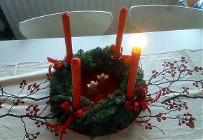 Im Advent werden nicht nur die Kerzen angezündet, sondern auch Schuhe geputzt... (Foto: Uschi Heeke)