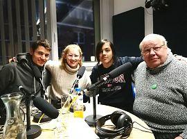 Von links: Steffen, Mali, Ernst und Gotwin. (Foto: Klaus Blödow)