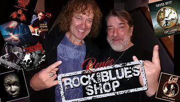 Renés Rock- und Blues-Shop (Bildgestaltung: René Back)