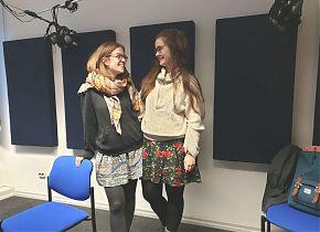 Zarah Rietschel und Marisa Uphoff