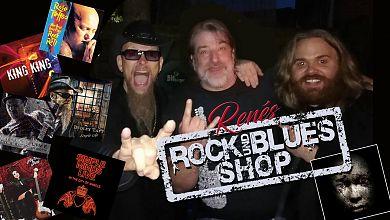 Renés Rock- und Blues-Shop ist wieder vollgepackt mit guter Musik. (Foto/Fotokollage: Rene Back)