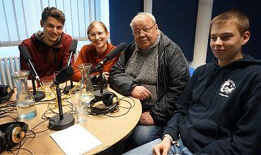 Steffen Lambrecht, Marlena Grab, Gotwin Elges und Marek Blanke (von links nach rechts; Foto: Klaus Blödow)