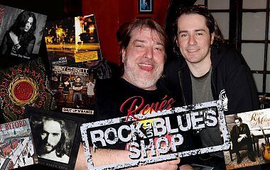 Renés Rock- und Blues-Shop hält wieder viele Live-Tipps für euch vor. (Foto/Fotokollage: René Back)
