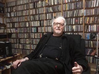 VMH in seinem Musikzimmer (Foto: Klaus Blödow)