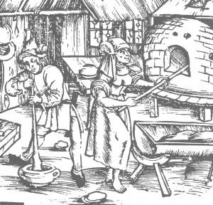 Seit dem Mittelalter wird in Deutschland Brot gebacken