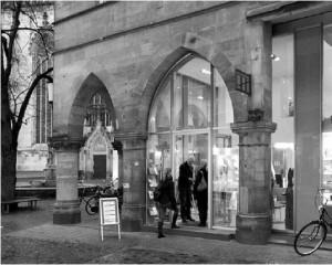 Das Kirchenfoyer an der Salzstraße