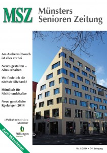 Titelbild MSZ Nr. 1 - 2014