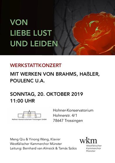 Konzertplakat Trossingen