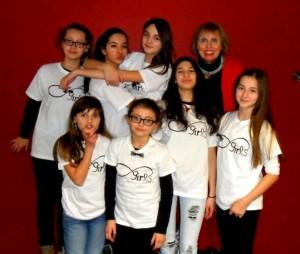 Forever-Girls mit Designerin Gabi Sutter